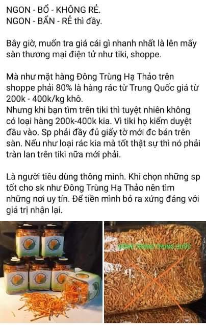 canh-giac-dong-trung-ha-thao-gia-re-thuc-chat-la-nhong-trung-thao-chi-co-tac-dung-nhu-nam-an
