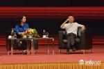 Cô gái được chọn lên ngồi đối thoại trực tiếp cùng tỷ phú Jack Ma là ai?