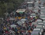 Toàn cảnh vụ tắc đường kinh hoàng trên đường Vành đai 3 sáng nay tại Hà Nội