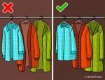 Nếu không muốn tủ quần áo lúc nào cũng lộn xộn, hãy bỏ ngay thói quen sắp xếp