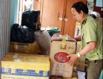 Bắt giữ gần 2.000 hộp mỹ phẩm không rõ nguồn gốc ở Vĩnh Long