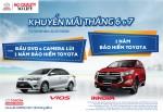 Toyota triển khai chương trình khuyến mãi tháng 6-7