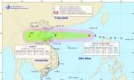 Áp thấp nhiệt đới mạnh lên thành bão số 3 đang giật cấp 10 trên Biển Đông