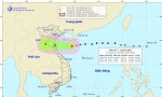 Chiều tối nay, bão Sơn Tinh tăng cấp, tấn công đồng bằng Bắc Bộ