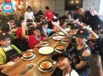 Hàng trăm bé cùng học làm bánh pizza với Anh ngữ Cali