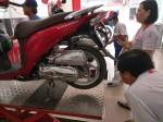 Honda Việt Nam trả lời thế nào đối với mâm xe Vision bị biến dạng?