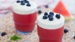 Thạch dưa hấu sữa chua mát lạnh giải nhiệt mùa hè