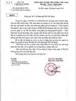 Bộ y tế yêu cầu xác minh, làm rõ 'đường dây sản xuất thuốc ho bẩn' tại TP Hồ Chí Minh