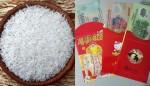 Vật dụng phong thủy đặt trong hũ gạo giúp gia đình làm ăn phát đạt