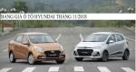 Bảng giá xe ô tô Hyundai mới nhất tháng 11/2018
