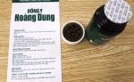 Giảm cân Đông y Hoàng Dung sử dụng giấy tờ giả lừa người tiêu dùng