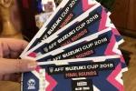 Vé xem chung kết lượt về AFF Cup 2018 bị hét giá lên tới 18 triệu đồng/cặp