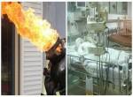 Hút thuốc trong nhà khiến bình gas phát nổ, an toàn cần biết khi đun bếp gas