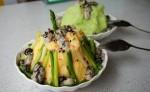 Đá bào hàu sống Đài Loan - món ăn không dành cho người bụng yếu