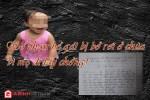 """Bé gái 2 tuổi bị bỏ lại chùa với bức thư """"em còn phải đi lấy chồng"""""""