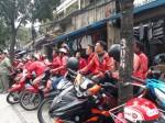 Go-Viet siết thưởng, tài xế đồng loạt đình công đòi gặp lãnh đạo