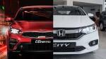 Tầm giá 600 triệu đồng, nên mua Honda City hay Kia Cerato?