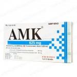 Thu hồi toàn quốc thuốc viên nén bao phim AMK 625 kém chất lượng