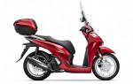 Honda SH 125i nâng cấp hoàn toàn mới giá từ 71 triệu đồng