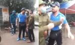 Clip gã đàn ông văng tục, dọa giết cán bộ vì bị nhắc đeo khẩu trang phòng COVID-19