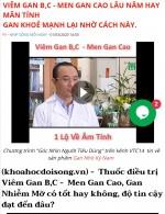 Sản phẩm Gan Nhó Kỳ Nam:  Lợi dụng hình ảnh hàng loạt y bác sỹ quảng cáo như thuốc chữa bệnh