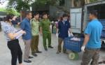 Hưng Yên: Phát hiện, tiêu hủy hàng trăm kg bì lợn tươi không rõ nguồn gốc