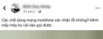 Dính sự cố lỗi đường truyền, nhiều thuê bao MobiFone không liên lạc được