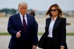 Tổng thống Donald Trump và vợ dương tính với COVID-19
