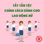 Những đặc quyền cho lao động nữ từ 1/1/2021