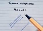 Học người Nhật cách làm phép nhân