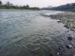 Chuyên gia giải thích về hiện tượng nước sông Hồng đổi màu, trong xanh như ngọc