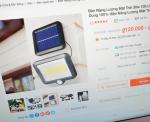 Mua đèn năng lượng mặt trời giá siêu rẻ tiềm ẩn nhiều rủi ro