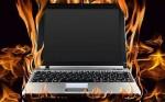 Rủi ro cháy nổ từ pin laptop