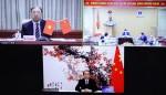 Lãnh đạo Y tế Việt Nam - Trung Quốc trao đổi kinh nghiệm phòng, chống dịch COVID-19