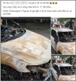 Xôn xao câu chuyện chồng ngoại tình, vợ gọi về không được nên đốt cháy xe hơi 2 tỷ tại Quảng Ninh: Nhìn hiện trường chiếc xe mà tất cả lắc đầu ngao ngán!
