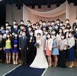 """Dân mạng sốc với bức ảnh: """"Đám cưới thời dịch bệnh MERS"""" tại Hàn Quốc"""