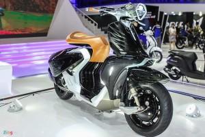 Yamaha 04Gen - xe concept lần đầu xuất hiện tại Việt Nam