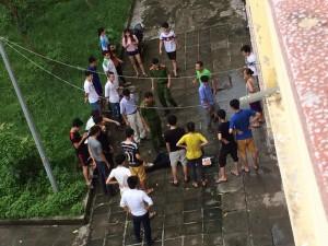 Bị bắt quả tang, kẻ trộm laptop của sinh viên Hải Phòng rơi từ lầu 4