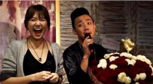 Lý do Trấn Thành dùng lại bó hoa cầu hôn tặng Hari Won ở buổi họp báo