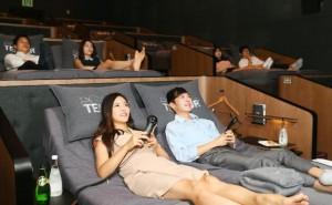Rạp chiếu phim giường nằm đầu tiên