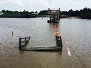 Cà Mau: Cầu Ô Rô xây chưa nghiệm thu bỗng sập trong đêm