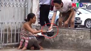 Xôn xao clip cho trẻ uống thuốc an thần, tiêm chích ma túy để xin tiền tại cổng bệnh viện