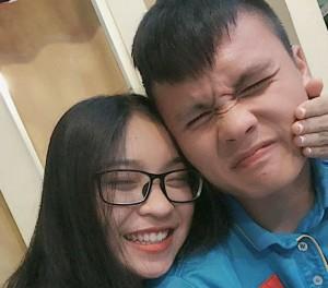 Người yêu Quang Hải – cô gái hạnh phúc nhất hôm nay!