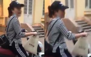 Cô gái trộm 4 ví và tiền của sinh viên Đại học Thương mại thanh minh như diễn giả