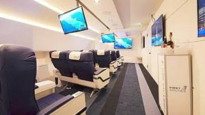 Hãng hàng không đặc biệt đưa du khách du ngoạn khắp thế giới mà không hề cất cánh