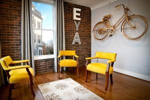 Mẹo trang trí nhà ở từ những chiếc xe đạp cũ