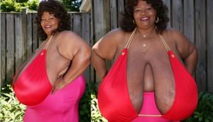 Người phụ nữ lập kỷ lục thế giới và kiếm cả triệu đô nhờ bộ ngực 50kg