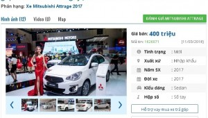Những chiếc ô tô 'mới cóng', xe cũ 'xịn' này đang bán giá 400 triệu đồng tại Việt Nam