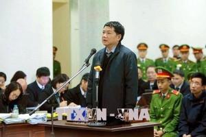 Sáng nay ông Đinh La Thăng cùng đồng phạm hầu tòa vụ góp vốn 800 tỉ đồng