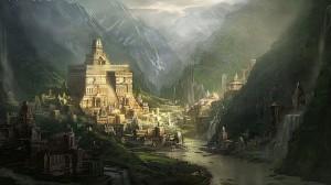 Thành phố siêu hình xuất hiện vào đêm không trăng của các linh hồn
